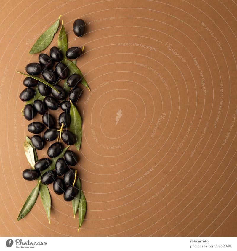 black olives background brown background food ingredient organic ripe agriculture fruit fresh shiny healthy mediterranean green vegetarian oil snack closeup