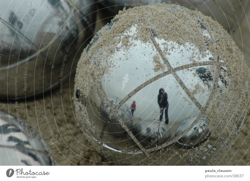 boule Boules Metal ball Netherlands Beach Pastime Reflection Sphere