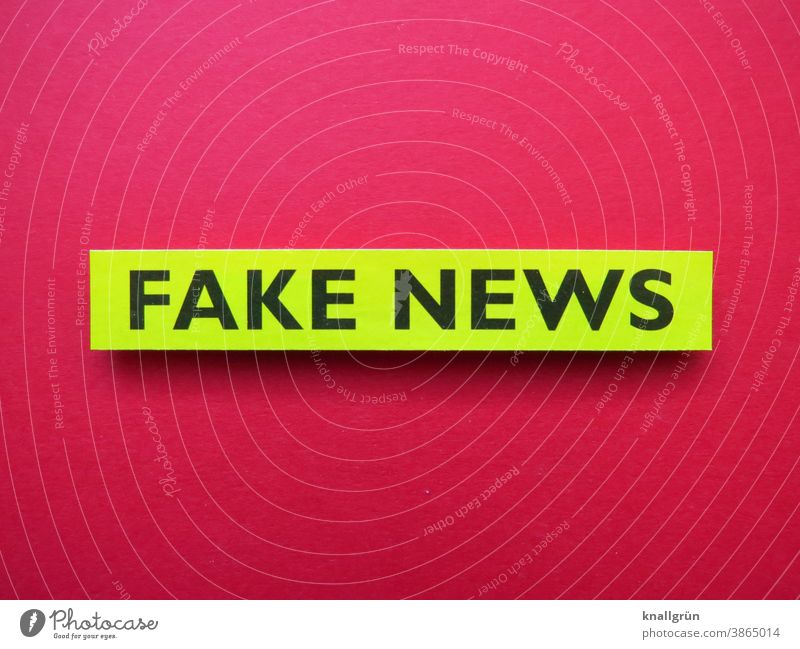 Fake News fake news Politics and state Society Information bootlicker Lie (Untruth) Manipulation Characters Colour photo Red Green Black Deserted Communicate