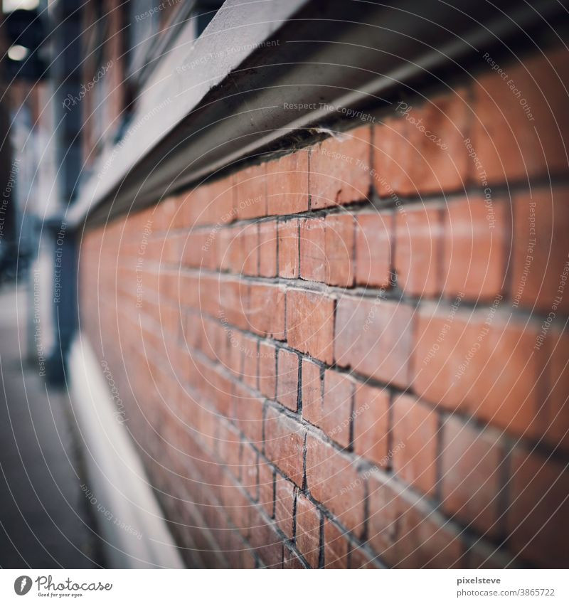 Bricked house wall Wall (barrier) Building stone masonry stonewall House (Residential Structure) Stone Stone wall Housefront Brick-built house houses brick wall