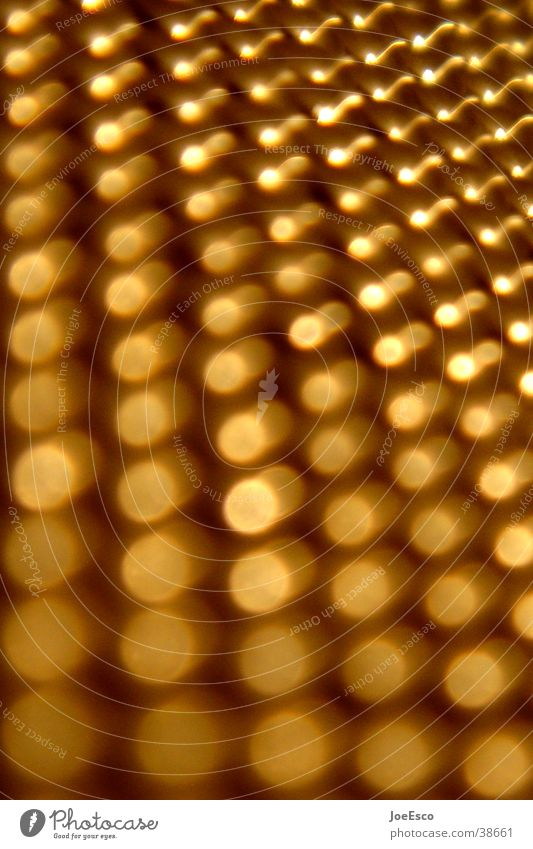 golden dots Style Metal Gold Perspective Things Point Progress Structures and shapes Neutral Background Blur