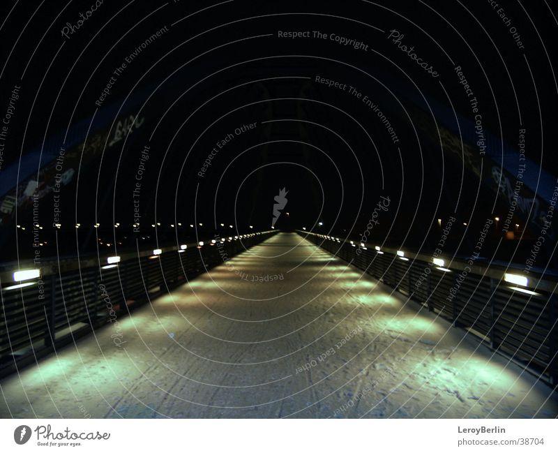 home Prenzlauer Berg Light Night Lantern Bridge Berlin S-Bahn bridge