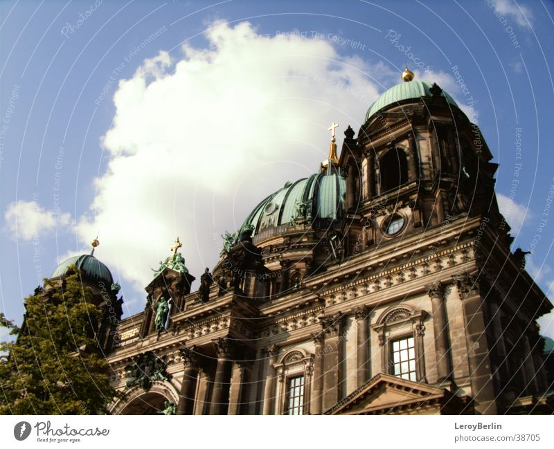 Berlin Cathedral Building House of worship Dome Sky