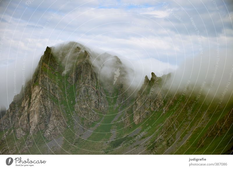 Sky Nature Landscape Clouds Environment Natural Rock Weather Wild Climate Point Soft Peak Norway