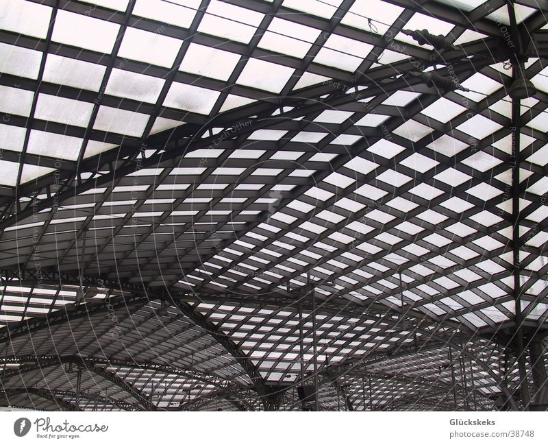 Metal Architecture Glass Perspective Roof