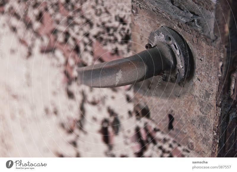 Old City Building Open Door Dirty Closed Broken Derelict Factory Decline Rust Shabby Trashy Ruin Come