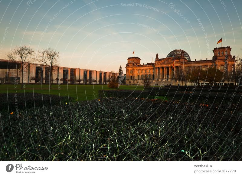 Reichstag, Berlin Evening Architecture Bundestag Germany darkness Twilight Capital city Chancellery marie elisabeth lüders house Night Parliament Government