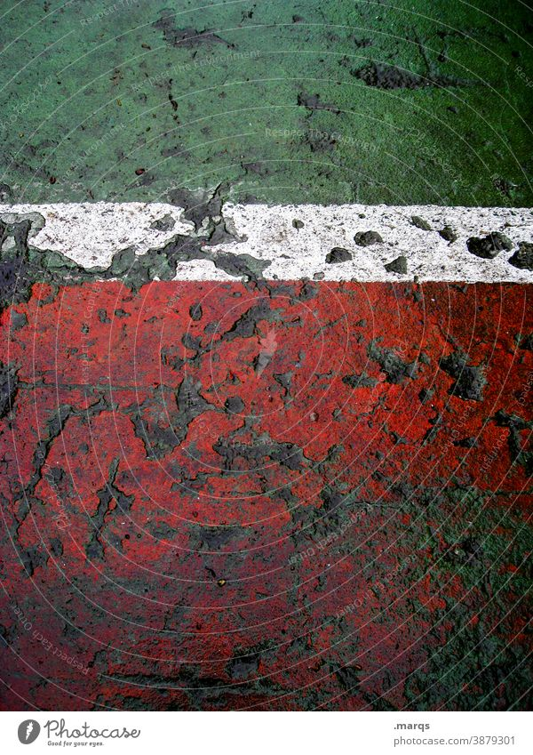 Green White Red Floor covering structure Marker line mark Line Structures and shapes Abstract Playing field parameters Tennis