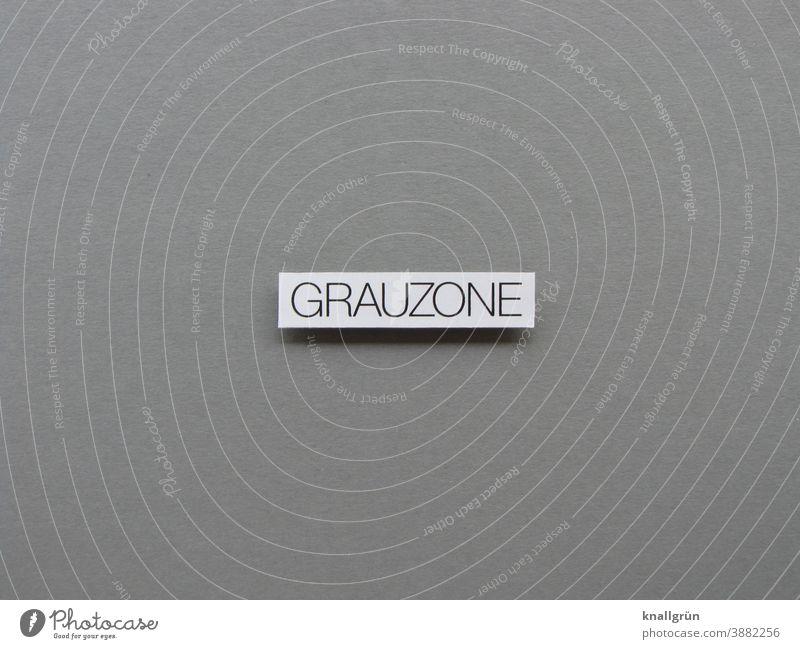 grey zone Unclear Diffuse Expectation Ambiguity hazy Letters (alphabet) Word leap letter Typography Communication Text Language Characters Communicate Close-up