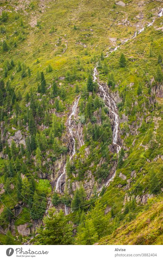streams on the Alps of South Tyrol fifteen alps austria tirol scenics scene flowing fall climb courage dangerous summit sports trekking waterfall outdoor peak