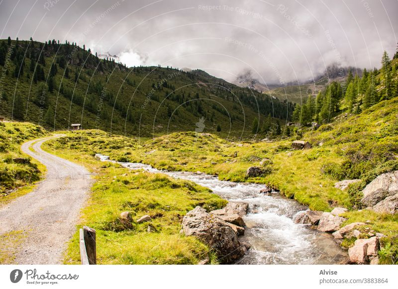 streams on the Alps of South Tyrol ten alps austria tirol scenics scene flowing fall climb courage dangerous summit sports trekking waterfall outdoor peak large