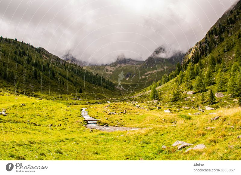 streams on the Alps of South Tyrol twelve alps austria tirol scenics scene flowing fall climb courage dangerous summit sports trekking waterfall outdoor peak