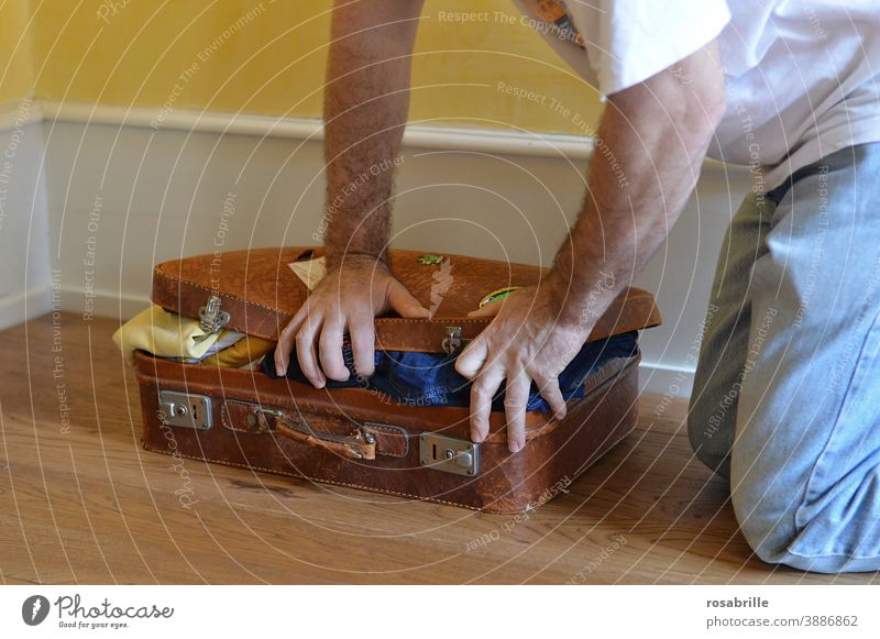 if you don't fill in the   spaces   correctly in the case Suitcase Grasp travel Full too much Anticipation vacation Box up pack a suitcase free time crimp Man