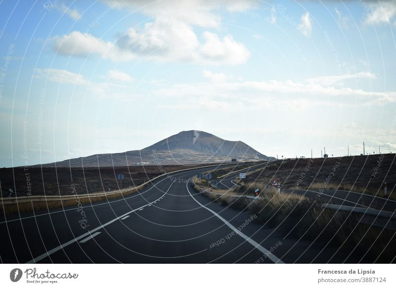 Road to nowhere Horizon Lanes & trails Street ossified cooled Lava field Waves Gray end of the world Loneliness Empty outlook far Peaceful Calm Wanderlust