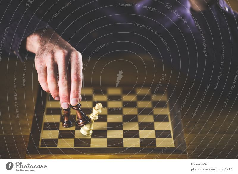 Checkmate - The game is over winners Loser Success Chess Dexterity Tactics checkmate Triumph Duel