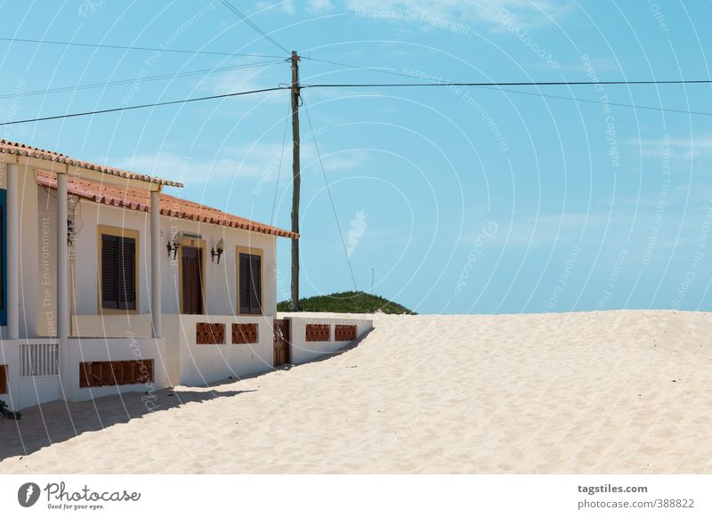 PRAIA DE FARO - PORTUGAL Portugal Algarve Ilha de Faro Praia de Faro praia Dune Beach dune House (Residential Structure) Beach hut sandalgarve Vacation & Travel
