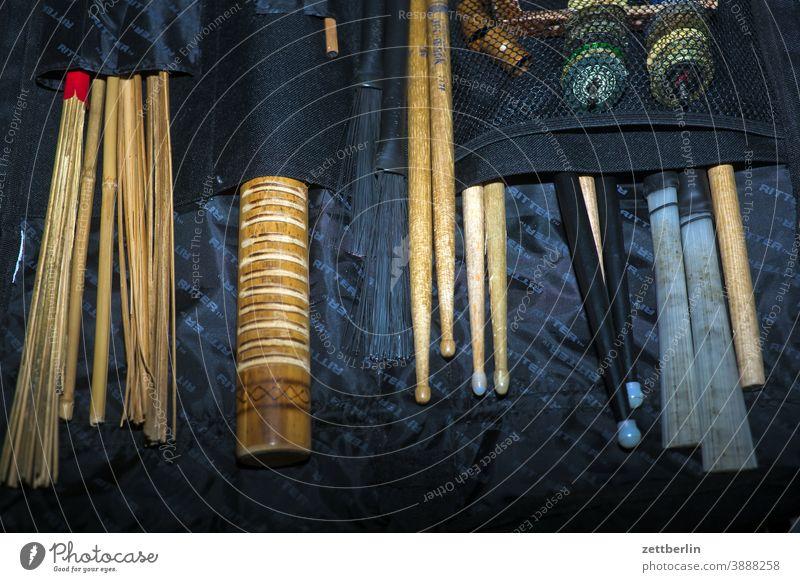 Drumsticks in your pocket Drum set Broom drumstick jazz broom rod drumsticks Bag tour Transport accessories brush brushes shaker shekere Music Musician