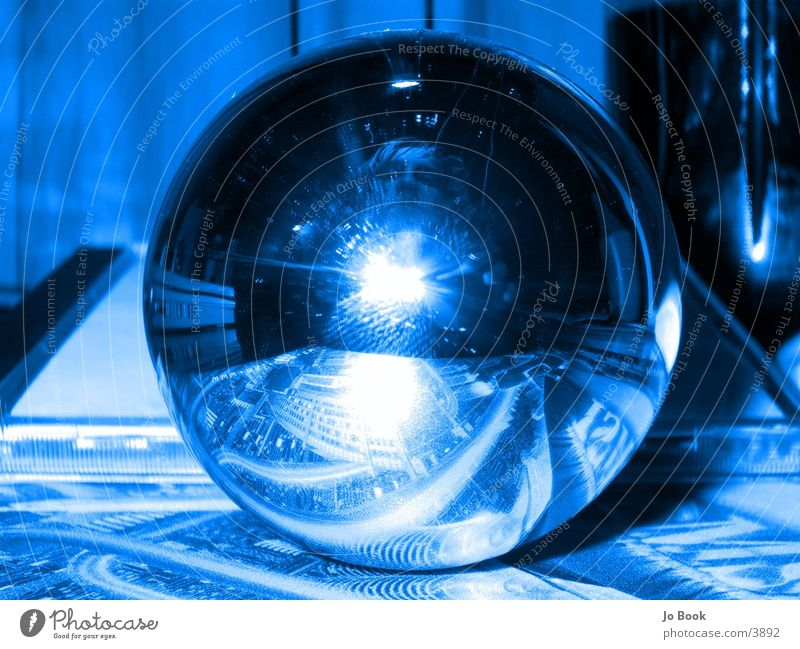 Blue Mirror Electric bulb Vaulting