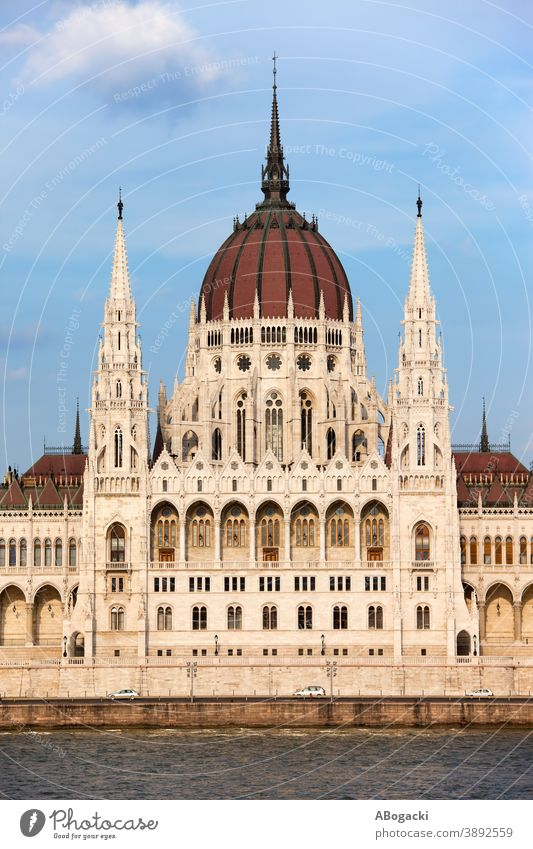 Hungarian Parliament Building in Budapest architectural architecture attraction budapest building city danube europe exterior facade heritage historic spire