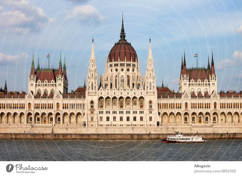 Hungarian Parliament Building in Budapest architectural architecture attraction budapest building city danube europe exterior facade heritage historic hungarian