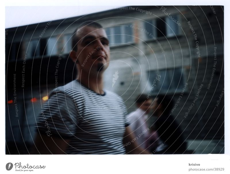 uncertainty Man Speed Blur Loneliness Gloomy