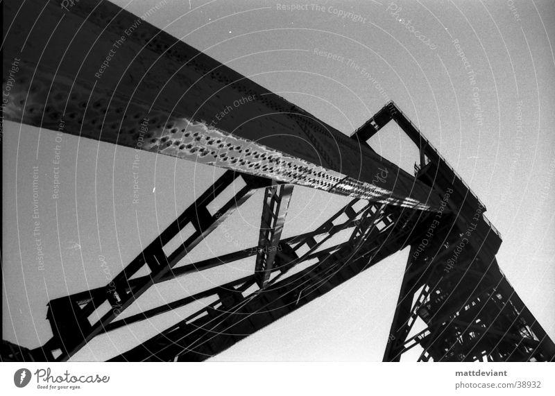 Old Loneliness Architecture Construction site Crane Destruction