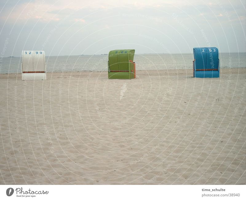 Ocean Beach Vacation & Travel Sand Europe North Sea Beach chair