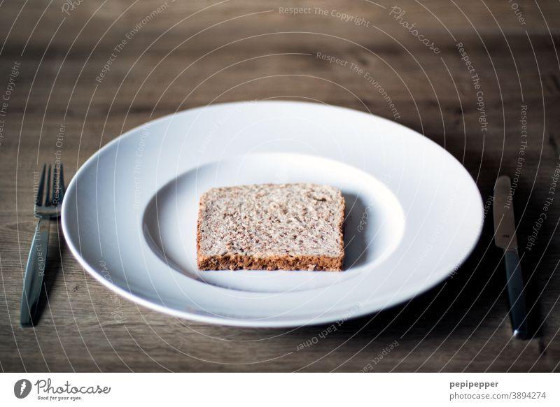 Toast on a plate toast Bread Dry Food food dry bread Nutrition Eating Baked goods Diet decrease Healthy Eating Vegetarian diet Breakfast Dinner Lunch Snack