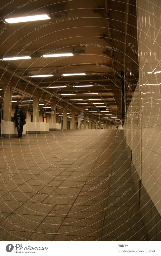 subway Underground London Underground Tunnel Passage Architecture mirror effect Far-off places