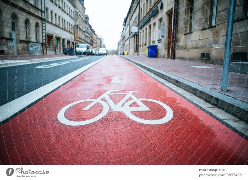 Bike lane cycle road bicycle bike cargo cargo bike trailers cargo trailer citizen climate-friendly crippled eco eco-friendly ecological effective enduring