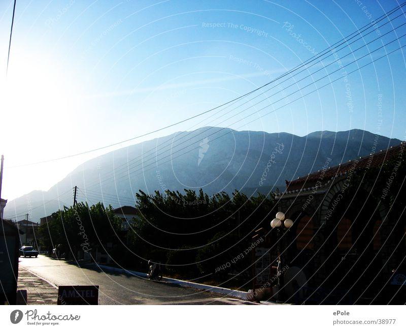 The mountain calls Samos Vacation & Travel Mountain Blue sky