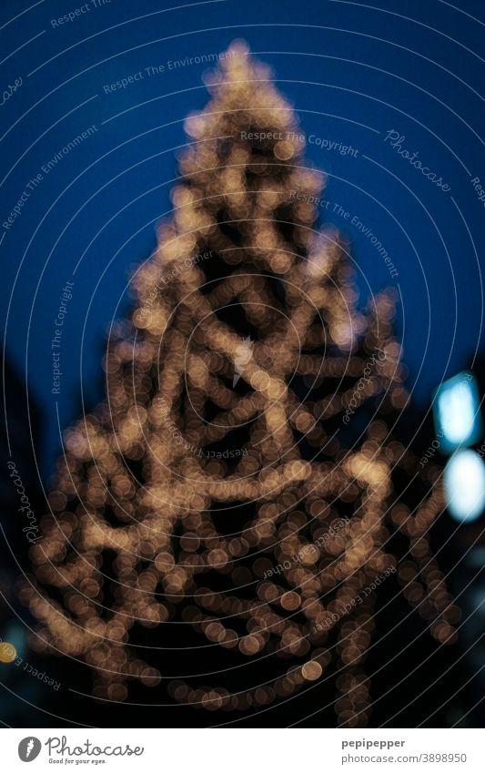 Christmas tree Christmas decoration christmas tree lighting Christmas & Advent Decoration Feasts & Celebrations Glitter Ball Christmas tree decorations Fir tree