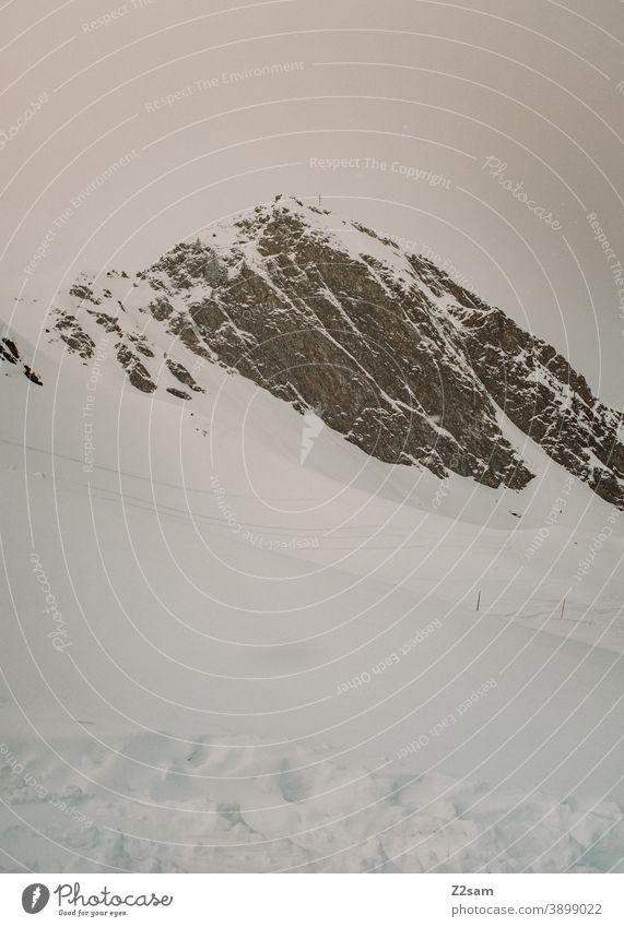 Winter landscape in Ratschings, South Tyrol winter landscape ratschings trees Forest sheep Ski run mountains alpine Winter sports vacation Italian Landscape