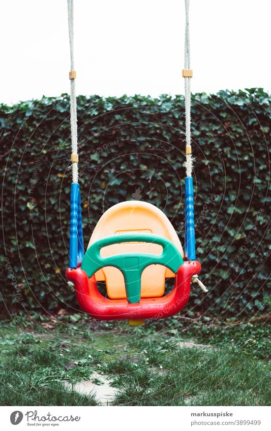 Children swing kindergarten playground Playground Playground equipment To swing Swing Kindergarten Toddler Playing