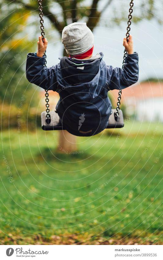 Children swing kindergarten playground Playground Playground equipment To swing Swing Kindergarten Toddler Playing Infancy Boy (child)
