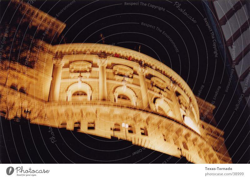 Federal Parliament Bern Night Worm's-eye view Light Long exposure Architecture federal parliament Canton Bern DaWeed Texas Tornado