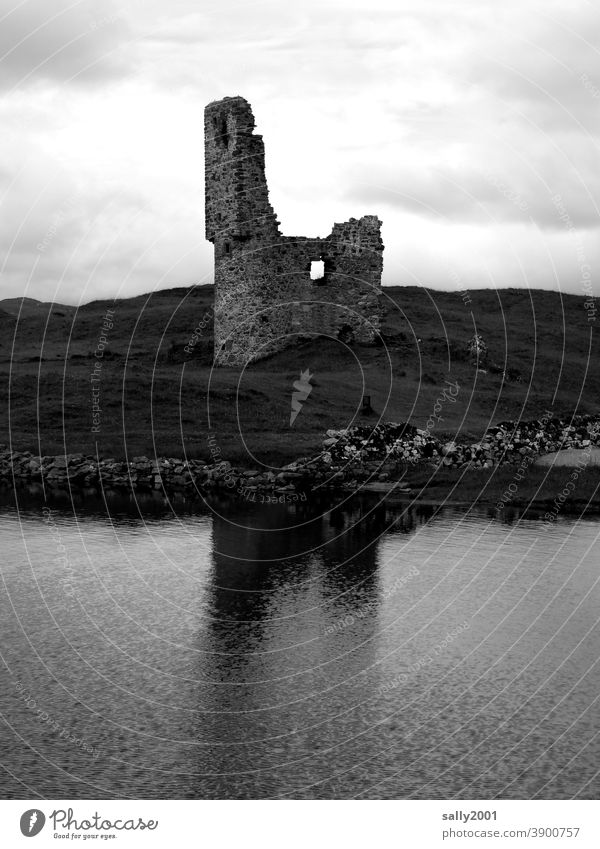 (Time) history | uninhabited for a long time... Ruin castle Castle ruin Historic Old Architecture Historic Buildings Manmade structures Wall (barrier) Facade