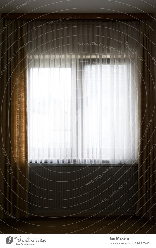 Windows with curtains Window pane View from a window Window board Window frame Curtain Heating Heater floor Wall (building) Looking Neighbor inboard out