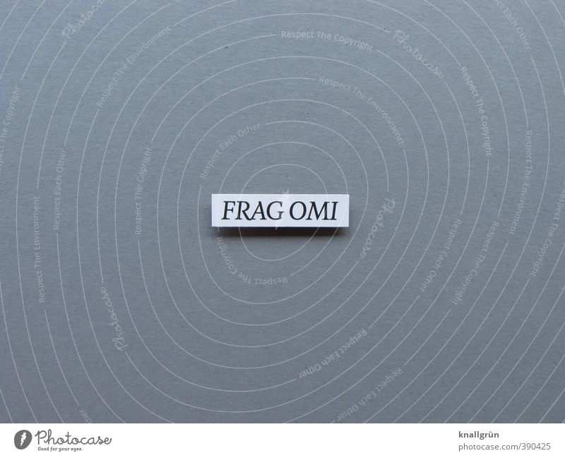 FRAG OMI Characters Signs and labeling Communicate Sharp-edged Sustainability Curiosity Feminine Gray White Emotions Optimism Success Safety (feeling of)