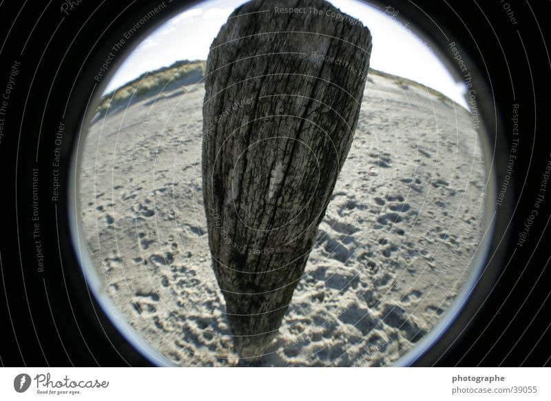 Beach Sand Pole