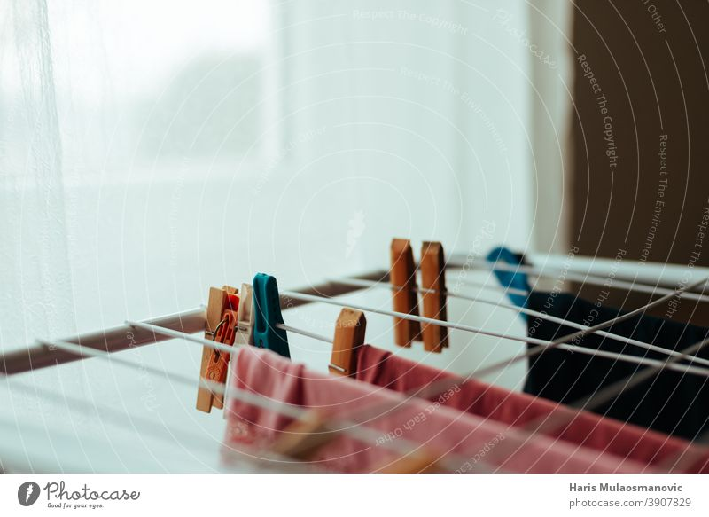 drying clothes at home Drying rack pegs clothes pegs Quarantine home living