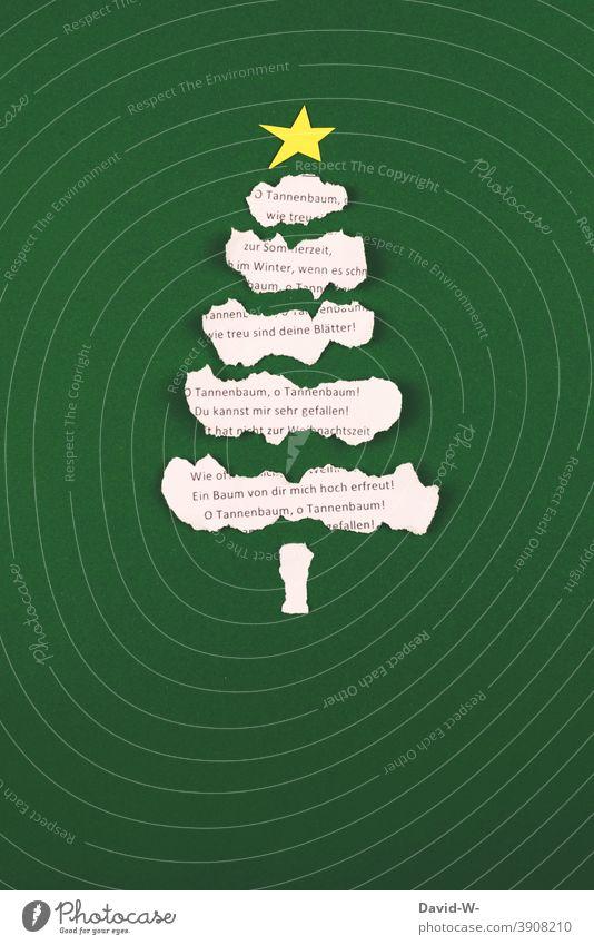 Christmas- Christmas tree and carol Christmas & Advent fir tree Christmas decoration christmas song Christmassy christmas tree Tradition Festive creatively