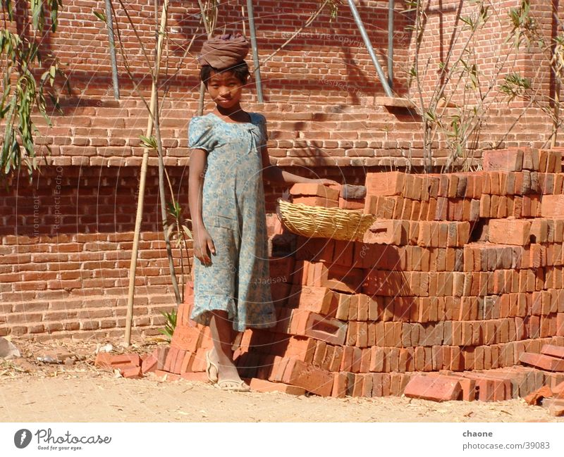 Woman Myanmar Work and employment Child employment