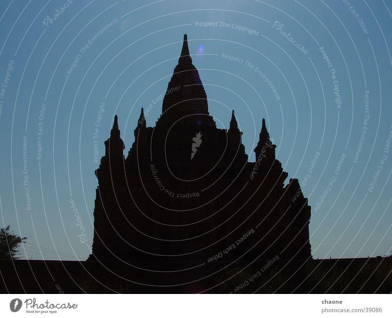 pagoda #2 Buddhism Myanmar Bagan Stupa Pagoda Asia Silhouette House of worship Shadow