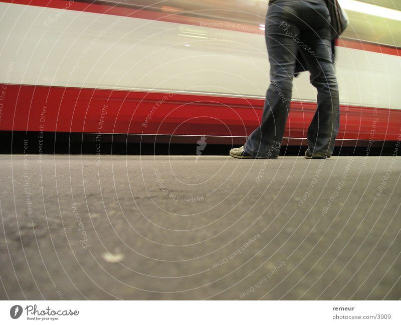 Transport Wait Pants Hip & trendy Cologne Underground Tram Platform Cologne municipal transport system