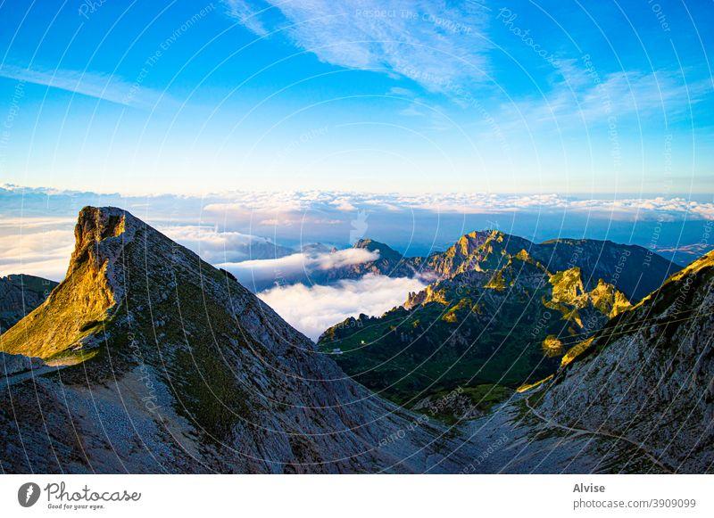 Emotion form Carega landscape italy veneto sky blue nature mountain europe carega italian meadow alps scenic beauty panorama panoramic outdoors hiking park