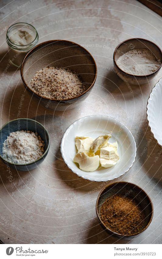 Step-by-step of vegan recipe view vegetarian top table organic nutrition lifestyle ingredient food cooking healthy eating vegetarian food gourmet flat lay
