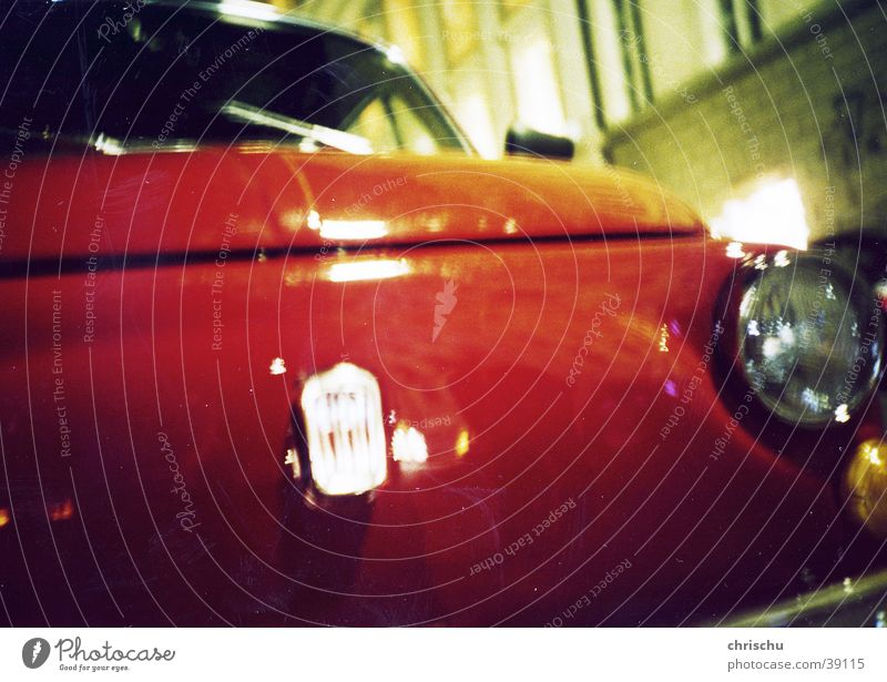 cinquecento Night Red Long exposure Iconic Night life Things Car Detail