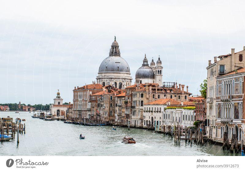 la Madonna della Salute italy venice italian church canal tourism travel venezia grand venetian veneto grand canal canal grande madonna architecture cityscape