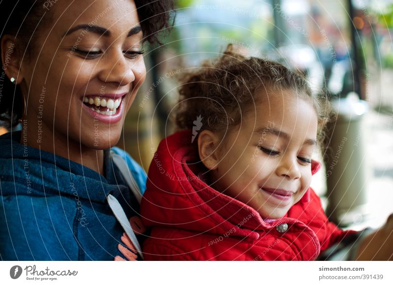 Human being Girl Joy Adults Love Life Happy Family & Relations Together Infancy Happiness Warm-heartedness Safety Protection Joie de vivre (Vitality) Mother
